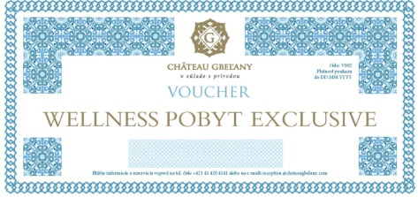 wellness voucher kastiel gbelany pobyt exclusive m